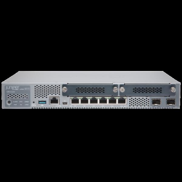 Juniper SRX320 Firewall VPN-tunnels Service gateway